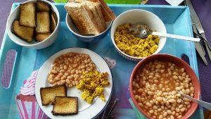 Pikantes Frühstück